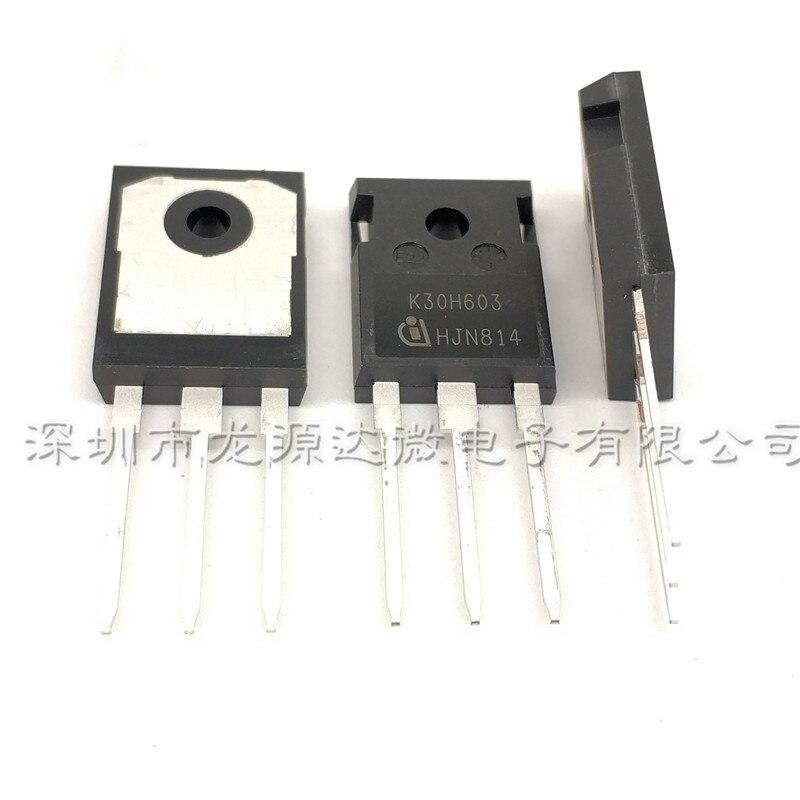 Free Shipping  5PCS IKW30N60H3 TO-3P K30H603 TO-247 IKW30N60 30N60H3 TO3P  Brand New Original