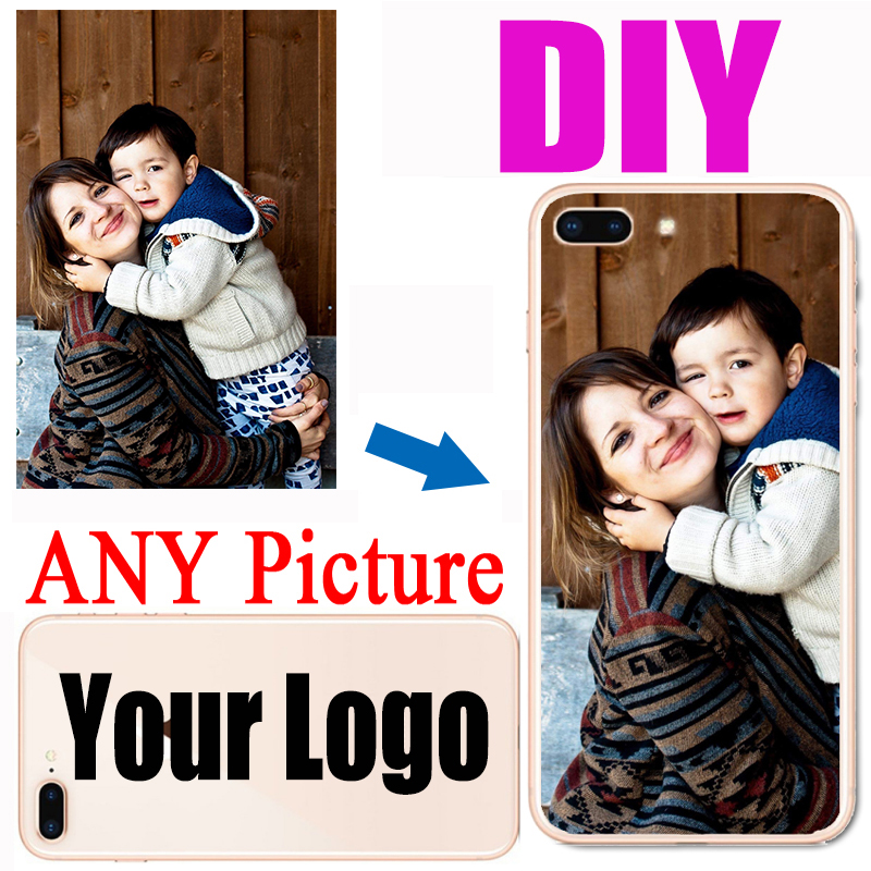 Personalized Customized DIY Name Photo Printed Colorful Phone Case Back Cover For iPhone 11 Pro Max 6 7 8 plus X XS XR 12 5s se