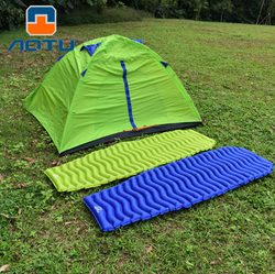 Ultralight Outdoor Inflatable Cushion Sleeping Camping Mat Sleeping Pad Mattress for Camping Hiking Backpacking Travel