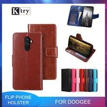 Кожаный чехол для телефона doogee shoot 1 x5 max pro x9 mini