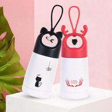 New creative cartoon mug children students men and women couple cup Thermos