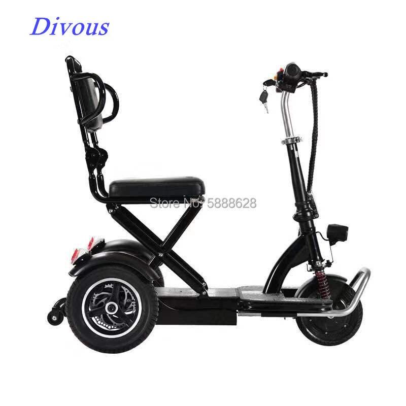 Лучшая цена, мотоцикл, складной электрический скутер, нагрузка 120 кг, с противоугонным колесом, скутер