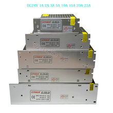 цена на LED Switching Power Supply DC24V 1A 2A 3A 5A 10A 15A 20A 25A for 24V RGB led strip lamp lighting led driver Lighting Transformer