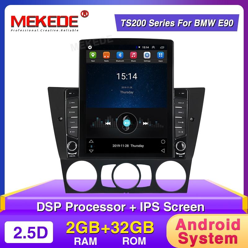 2020 New! Car Android Radio Player Fit For BMW 3-Series E90 E91 E92 E93 2005-2013 9.7