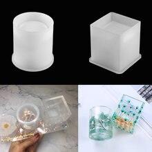 1 шт круглая щетка горшка кристальная силиконовая форма «сделай