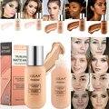 Популярная матовая основа для макияжа лица с полным покрытием светильник, Косметика для макияжа лица для женщин, девушек, женщин, макияж для...