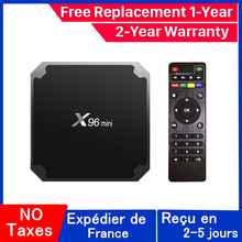X96 mini ip tv pudełko 1G 8G 2G 16G procesor Amlogic S905W android 9 0 tv pudełko wsparcie skrzynki smart tv x96mini smart ip zestaw pudełkek pod telewizor tanie tanio 100 M CN (pochodzenie) Amlogic S905W Quad-core 64-bit 8 GB eMMC HDMI 2 0 1G DDR3 0 45kg DC 5 V 2A Karty TF Do 64 GB Penta-core Mali-450MP