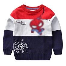 Детские Мультяшные свитеры Осень зима одежда для маленьких девочек