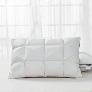 Image 2 - Peter Khanun 48*74cm Brand Design 3D Bread White Duck/Goose Down Feather Pillows for Sleeping Bed Pillows Home Textile 014
