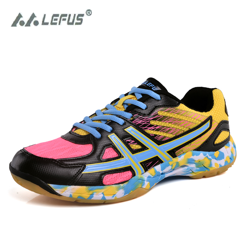 Hot Discount #0fcb LEFUS 2020 Men Sneakers Badminton Shoes
