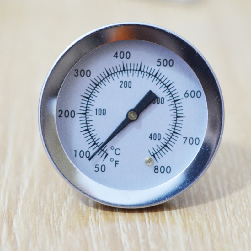 Termómetro De Horno De Acero Inoxidable 40 ° C a 300 ° C Horno BBQ Termómetro de horno