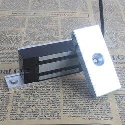 LPSECURITY z uchwytem elektromagnetyczny elektromagnetyczne zamki do szafki szafki mniejsze drzwi 60kg siła ciągnąca 12VDC