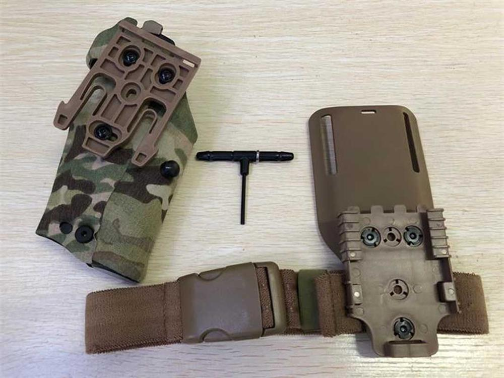 TMC 354DO G17 X300 Holster Panel Adapter Leg Shroud Drop Flex Adaptor