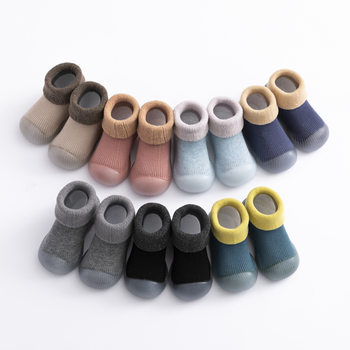 baby sock shoes for winter thick cotton animal styles cute baby floor shoes anti-slip first walkers 0-3 years 2