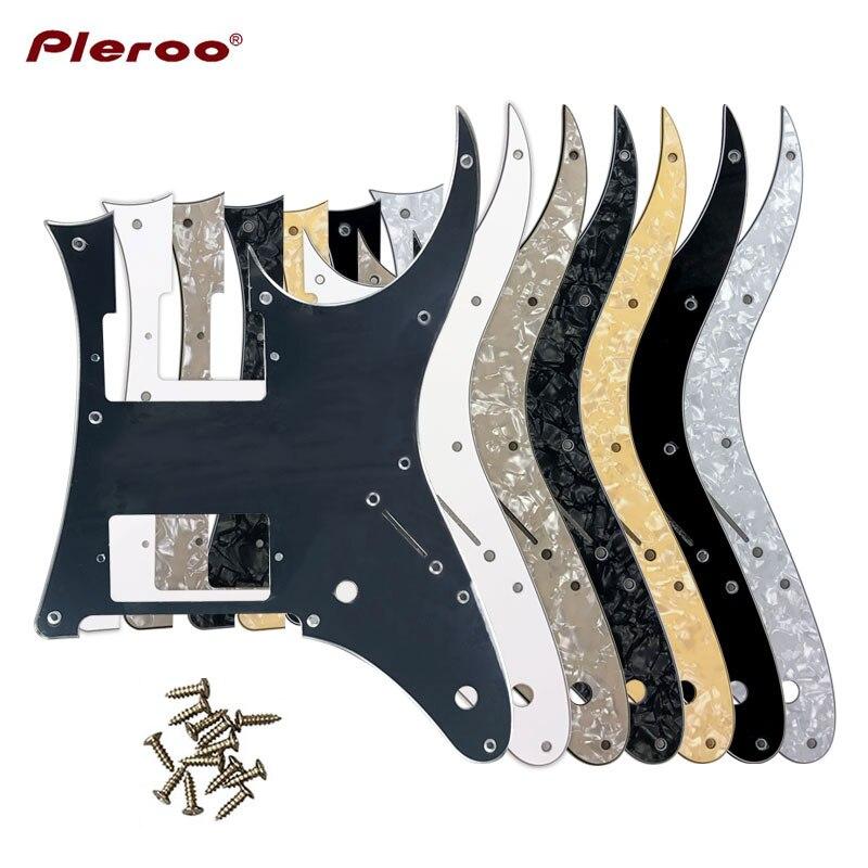 Pleroo Custom electric Guitar Parts - For MIJ 2016 Year Ibanez RG2550Z Guitar Pickguard HH Humbucker Pickup Scratch Plate