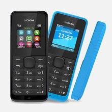 Originele Refurbished Nokia 105 Dual Sim Goede Kwaliteit Unlocked 2G Gsm Mobiele Telefoon & Geen Hebreeuws