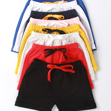 Cotton Shorts Panties Girls Baby Boys Kids Beach Summer for Candy-Color Toddler 1-5Y
