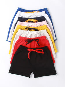 Cotton Shorts Panties Candy-Color Girls Baby Boys Kids Beach Summer for Toddler 1-5Y