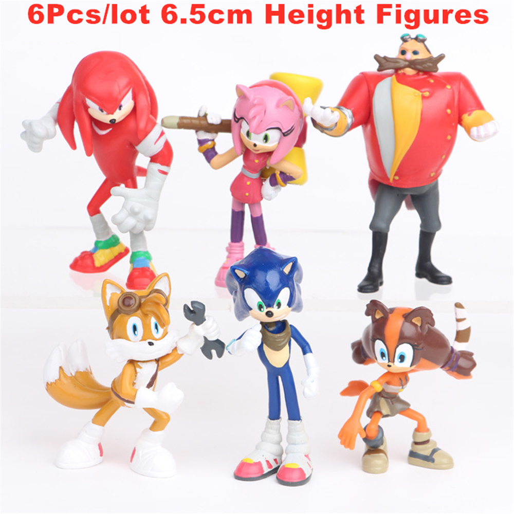 4 Revsions 6pcs Cute Fantasia Sonic Action Figures Pvc Model Sonic The Hedgehog Shadow Tail Characters Figure Toys For Kids Gift Action Toy Figures Aliexpress