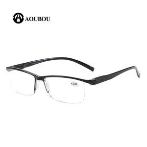 Image 2 - Okulary do czytania mężczyźni Ultralight gafas de lectura nowe okulary proca leesbril wysoka przepuszczalność światła lunettes bril gozluk