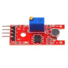 5 шт. умная электроника KY-038 микрофон голосовое Обнаружение звука сенсор модуль микрофон передатчик умный робот автомобиль для arduino DIY Kit
