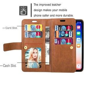 Image 5 - Funda de cuero sólido con cierre de cremallera para Samsung S20 Ultra, Samsung Galaxy Note 20 Ultra S 20 Plus, BILLETERA, ranura para tarjetas