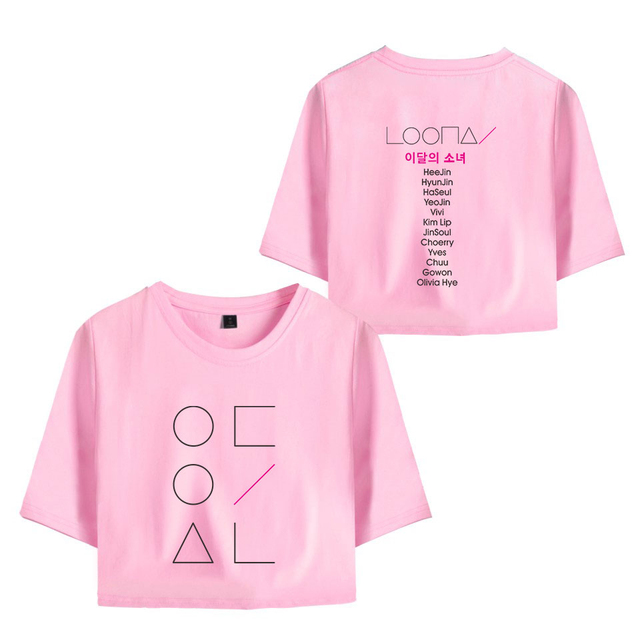SET LOONA SHORT + T-SHIRT (12 VARIAN)