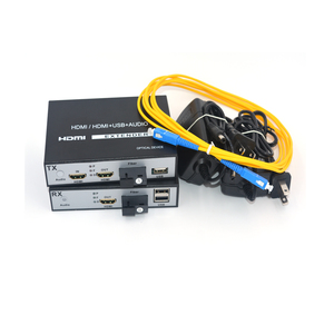 Image 5 - High Quality HDMI Extender, HDMI over Fiber optic media converters with KVM USB2.0 and loop out,HD 1080p HDMI over Fiber up 20Km