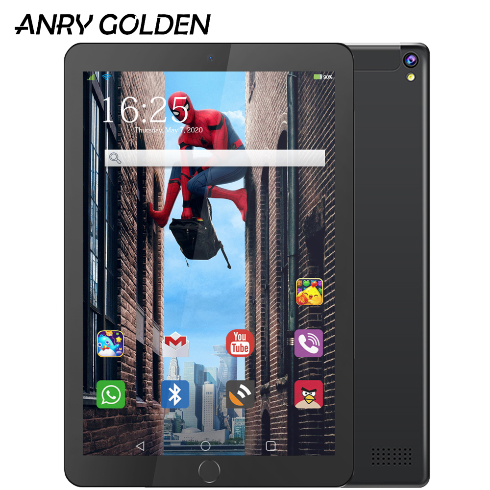 ANRY 10 Inch Wifi Tablet Android 7.0 MTK6580 Quad Core 1280 X 800 IPS Tablet PC RAM 1GB ROM 16GB 3G Phone Call 10.1 Tablet