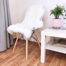 ROWNFUR Rugs For Home Living  Black White Non Slip Microfiber Washable Long Runner Mats Floor  Soft Sofa Carpet Cushion Hairy