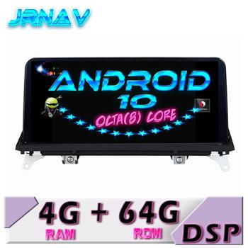 Android 10 4G 64G FOR bmw X5 E70 FOR bmw X6 E71 Original CCC/CIC system Car DVD player car monitor stereo ips screen image