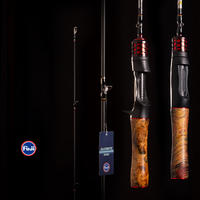 1,68 m Fuji Baitcasting Angelrute pesca Reise Ultraleicht Carbon Casting Spinning Angelrute Locken 2-10g UL Solid Stange
