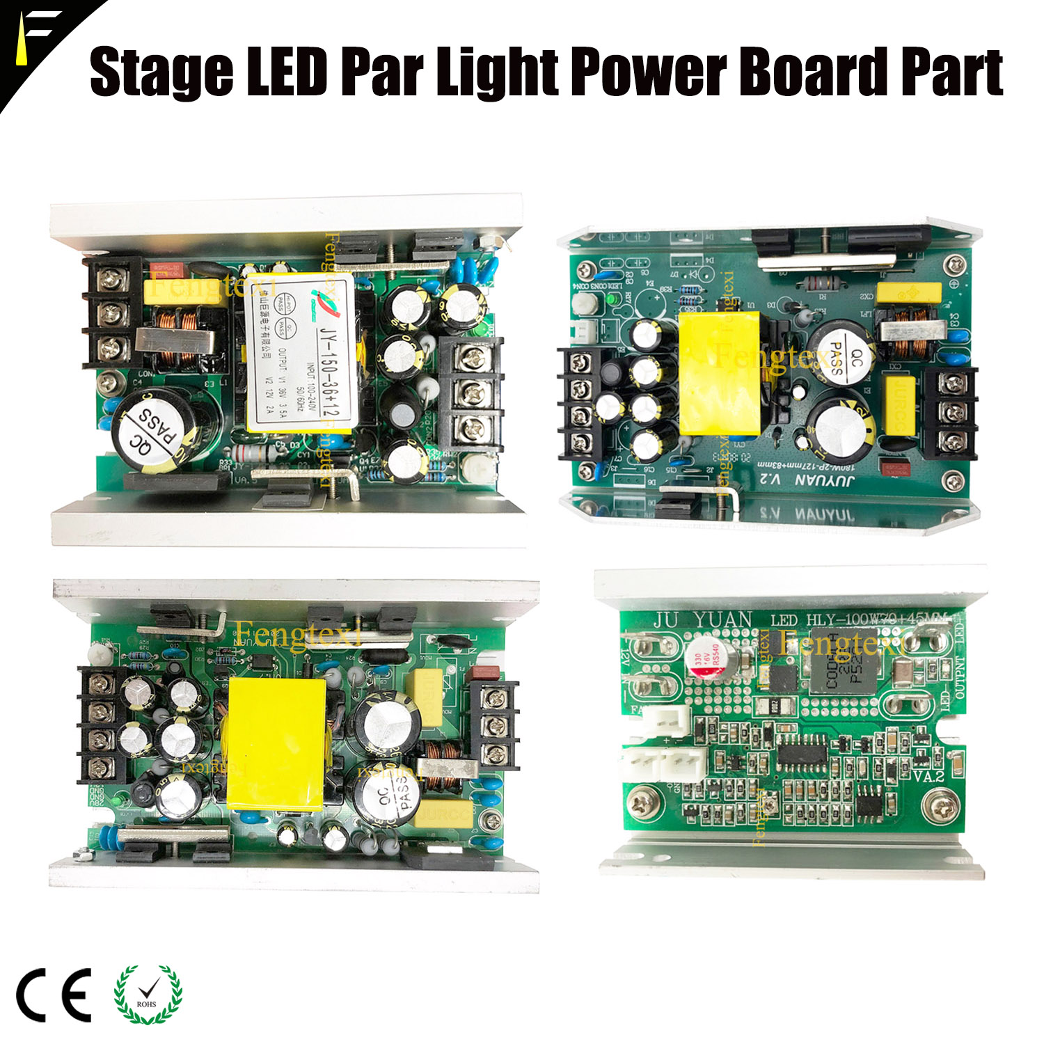 3in1 4in1 Stage Par Electric Source Power Pack 150w180w200w 24v12v RGBW Waterproof LED Par Can Light Power Supply Board Assembly|Stage Lighting Effect|Lights & Lighting - title=