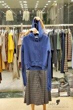 Autumn Guard Womens Wear Embroidery Letter Cap Short Sleeve Women Pullovers Clothing Sweatshirt