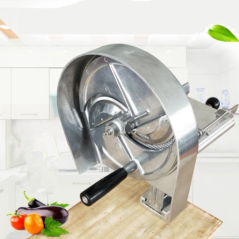 Tea Coffee Shop Commercial Manual Fruit Slicer Potato Carrot Lemon Chips Slicer Vegetable Fruit Salad Slicing Machine Shredder|Food Processors| |  - title=