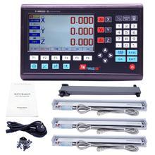 Digital Readout Sensor DRO Encoder Linear-Scale Milling Lathe 0-1000mm YH800-3 3-Axis