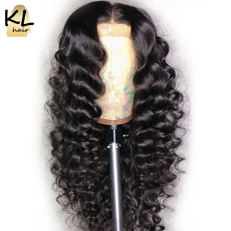 360 Lace Frontal Wig For Black Women 150% Density Loose Wave Brazilian Remy Hair Human Hair Wigs Pre Plucked With Baby Hair KL