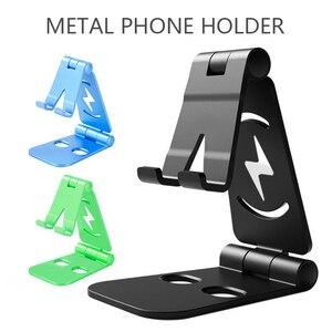 Universal Adjustable Folding Mobile Phone Holder Stand Desk For Ipad Tablet Metal Phone Holder Desk Stand Phone Support Holder