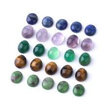 Мини природный кристалл DIY широкий бусины полу-продукт ожерелье кольцо использовать полированные формы камень ювелирные изделия аксессуар