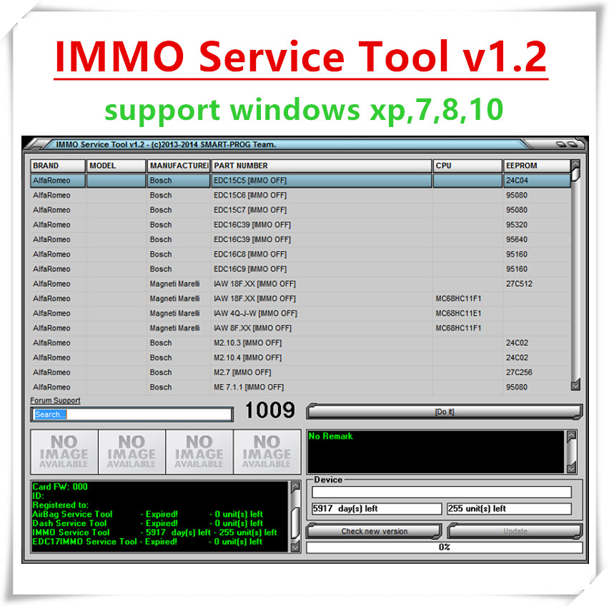 Edc 17 IMMO V1.2 PIN-код и Immo выключен, работает без регистрации, отправка по ссылке для загрузки