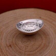 Полые твердые 2 g 999 футов и серебро Компания годовой Конференции Подарок открытие мероприятия подарок серебряные слитки серебряный бар