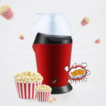 110 v 220 v maszyna do robienia popcornu gospodarstwa domowego szybkie nagrzewanie maszyna do popcornu łatwy w użyciu Popper kukurydzy nadaje się dla dzieci DIY 45 tanie i dobre opinie OLOEY 1200 w 110v 220v Z wyłącznikiem PM1800 other