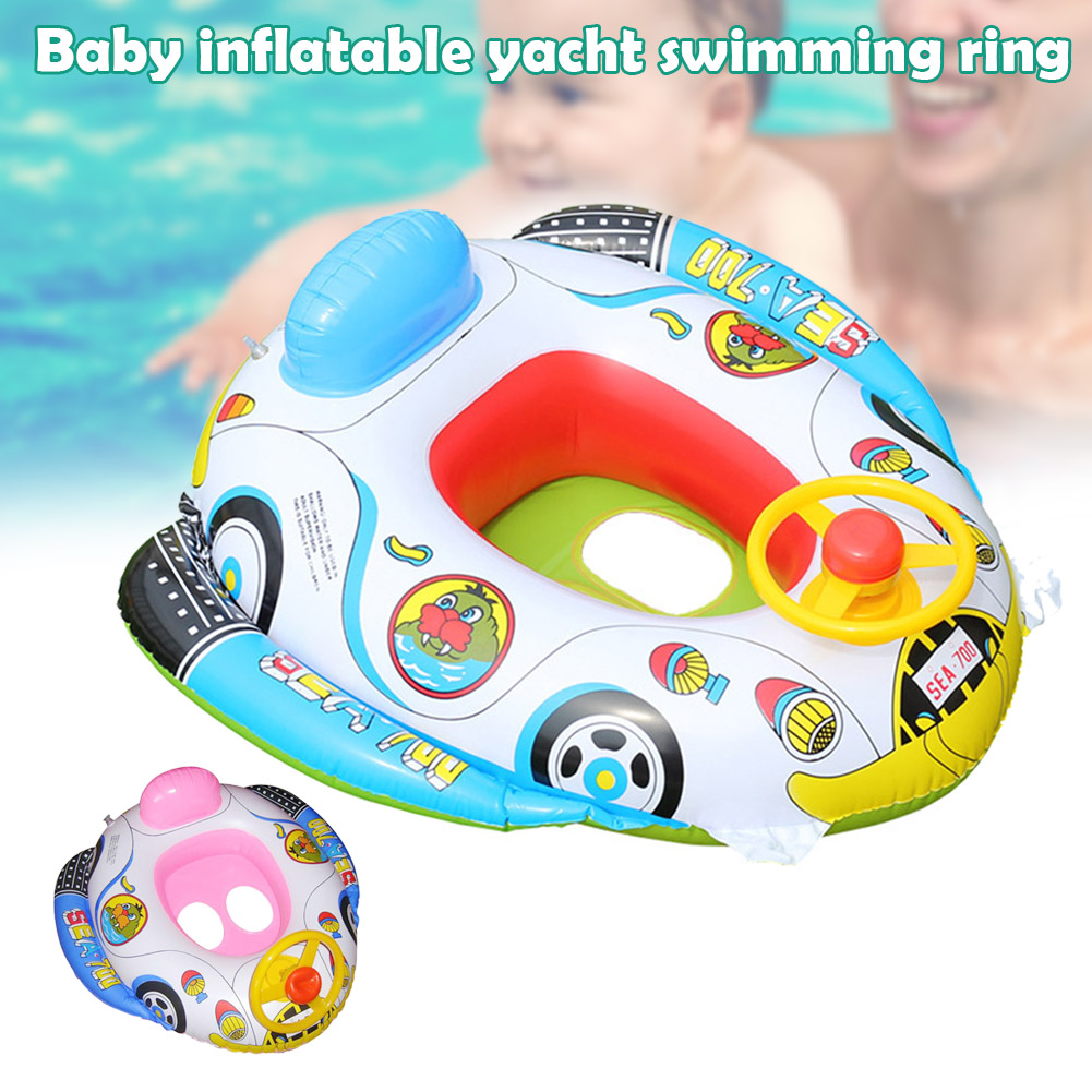 Baby Swimming Floats Swimming Ring Infant Inflatable Swim Tube Trainer Pool Water Toy Random Style M09