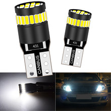 2x T10 W5W Led Lamp Side Marker Parking Verlichting Voor Ford Fusion Fiesta Focus 2 3 Mondeo Mk4 Mk2 Kuga S Max F150 F250 F350 F450
