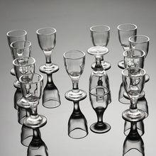 Бокал для вина 12 упаковок домашний толстое дно бокал маленький белый бокал для вина набор чашка спиртных напитков бокал для вина разделитель для вина пулевое стекло