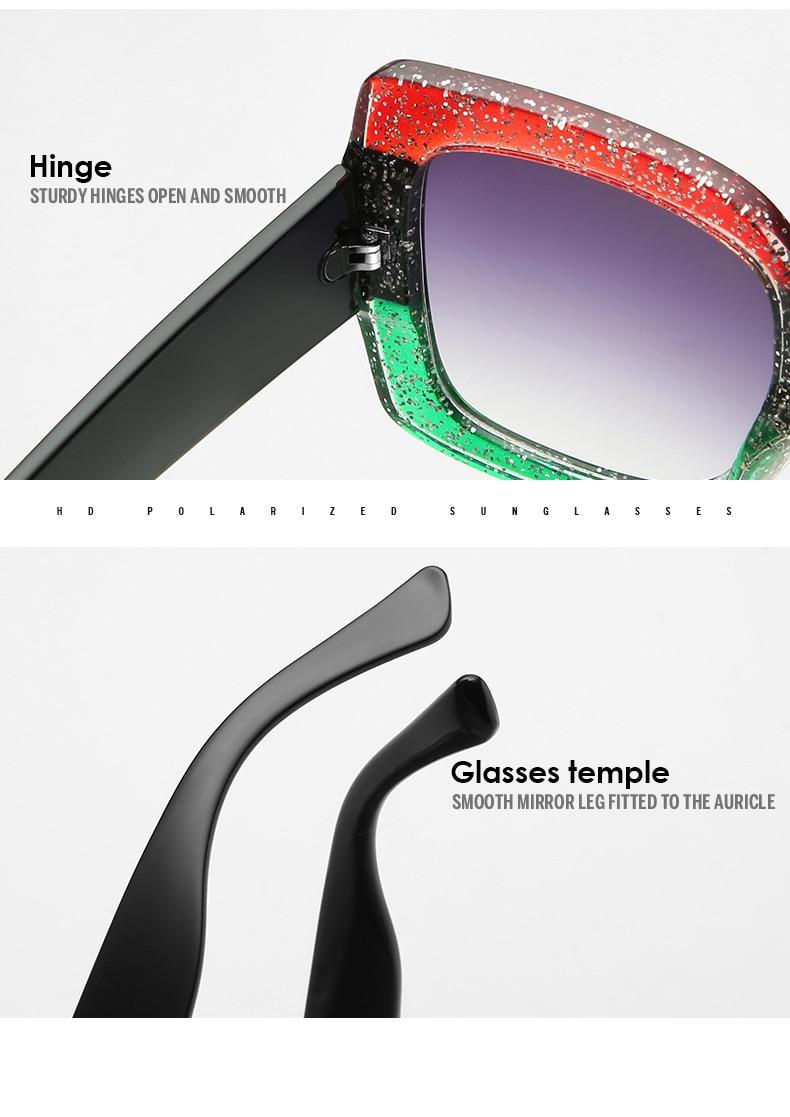 Luxury Brand Designer Square Sunglasses Shades For Women Vintage Women's Sun Glasses Cool Retro 2021 Trends Sunglasses Female gg (17)