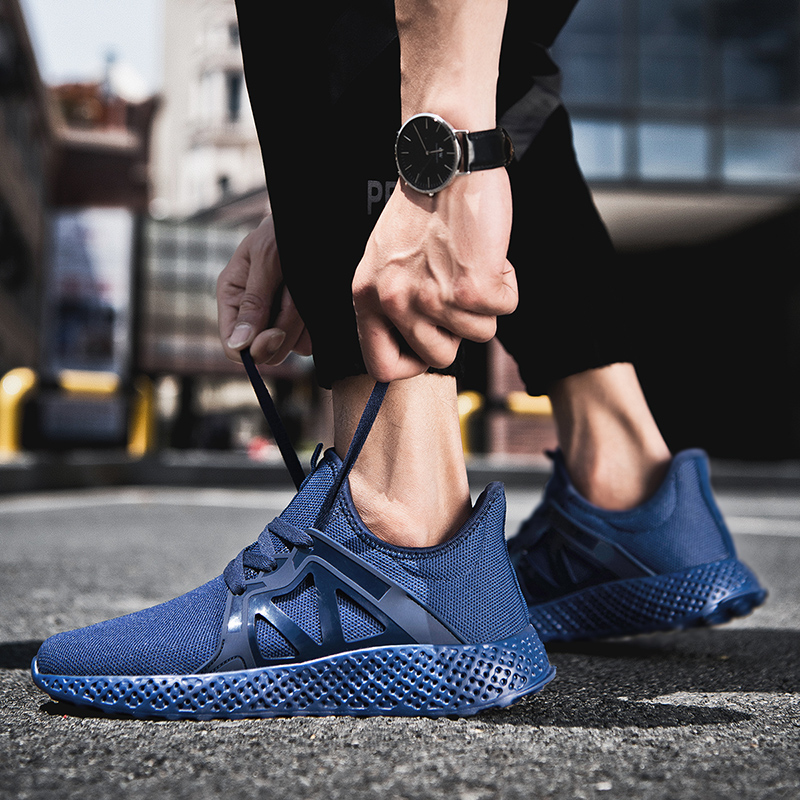 Damyua Hot Sale Running Shoes 2020 New Men's Size 48 Lightweight Shock Absorbing Sports Shoes Fashion Breathable Casual Sneakers 5