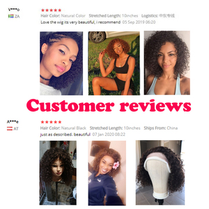Image 5 - Debut Lace Front Human Hair Wigs Kinky Curly Wig Human Hair Short Bob Wigs For Black Women Wet And Wavy Curly Wigs Free Shipping