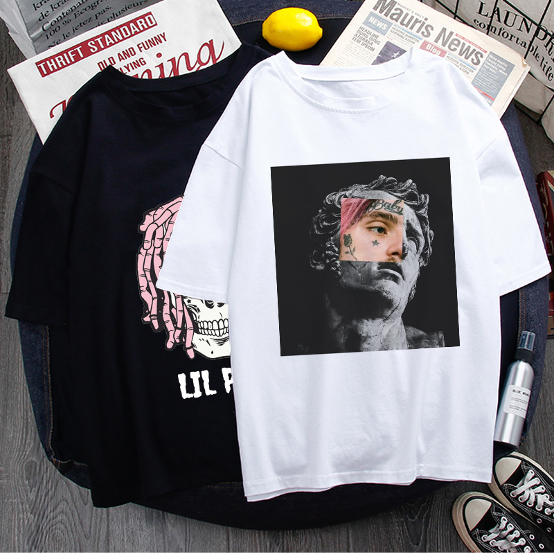 Rip Lil Peep Graphic Cool T Shirt women Unisex Lil. Peep Rapper Funny Cartoon T-shirt Cry Baby Casual Tshirt Hip Hop Top Tees