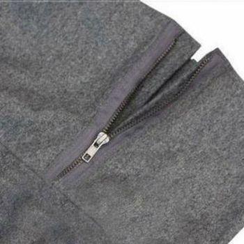 4 Colors Women Coat Poncho Autumn Winter Casual Overcoat Zipper Loose Pullover Cloak Sweater Cape Outwear hc 10